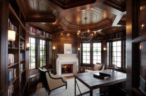 Elaborate-ceiling-in-wood-gives-this-traditional-home-office-a-timeless-look[1]