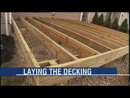building dream deck floor