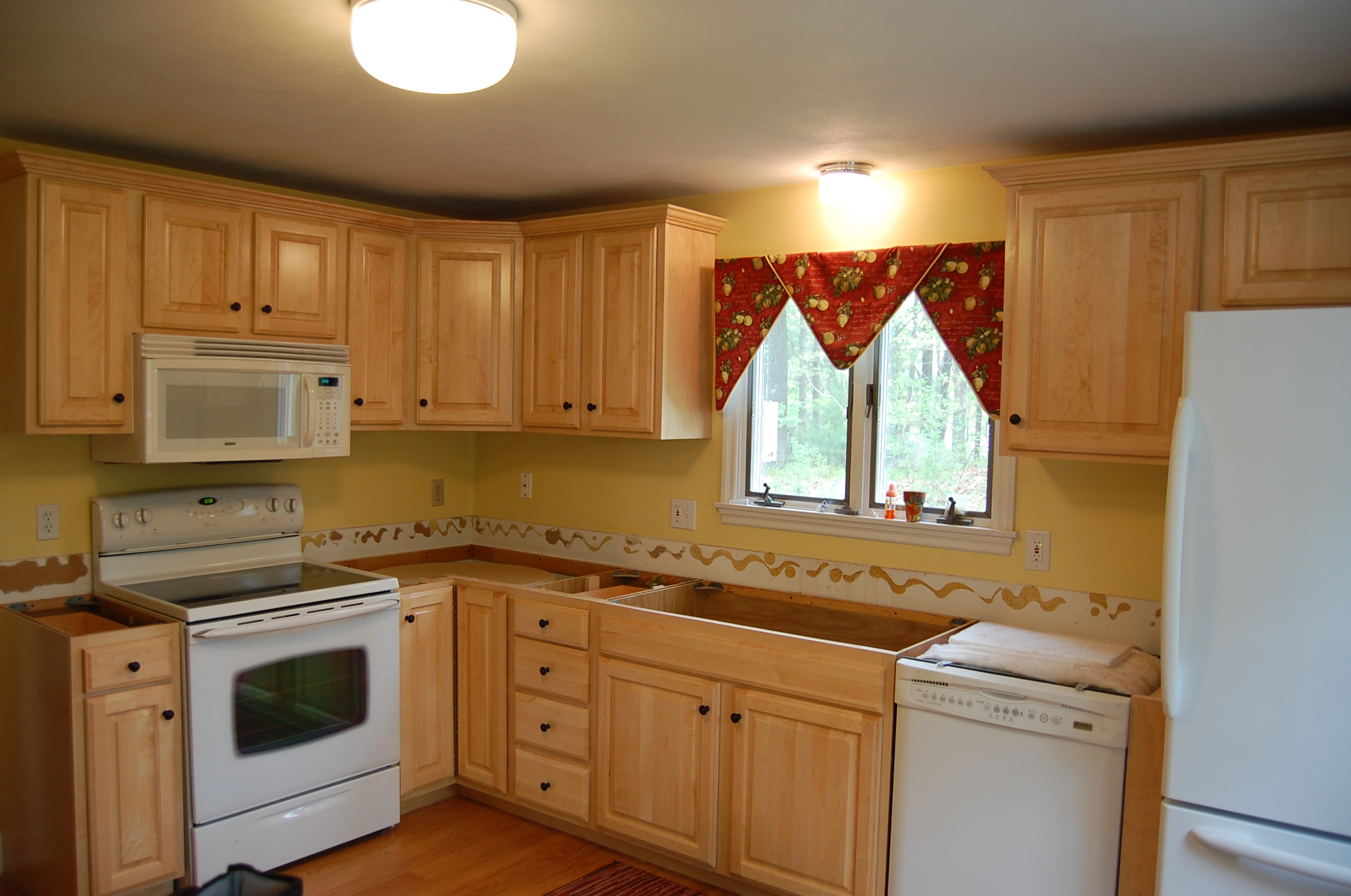 Re-facing Kitchen Cabinets