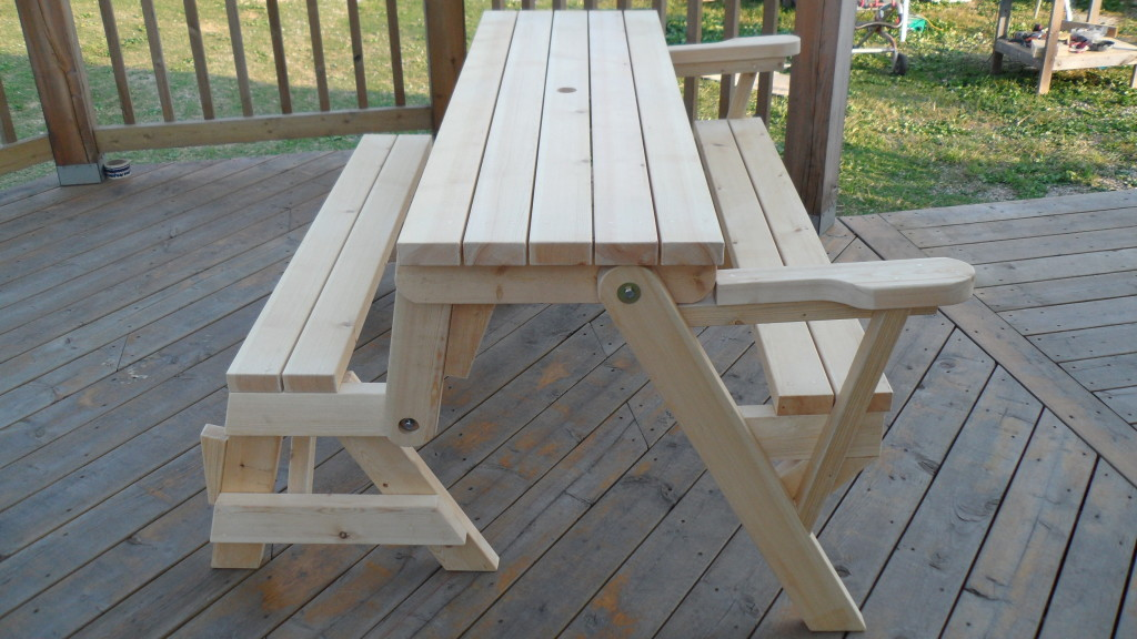 Peachy How To Build A Folding Picnic Table Dailytribune Chair Design For Home Dailytribuneorg