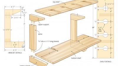 Wineglass-display-shelf-woodworking-plans-03
