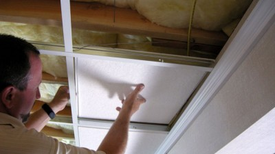 how to install suspended ceilings