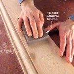 How to finish interior wood sanding