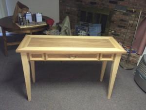 writing desk build
