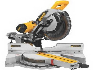 Using mitre saw
