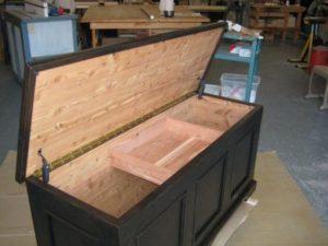 building cedar chest