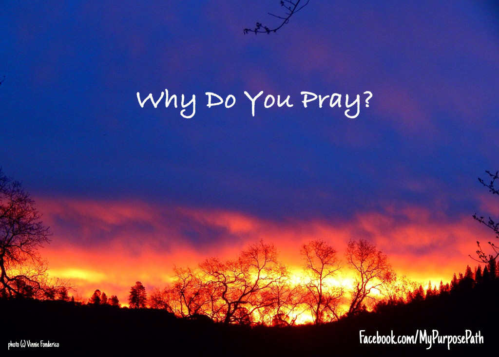 Why Do You Pray?