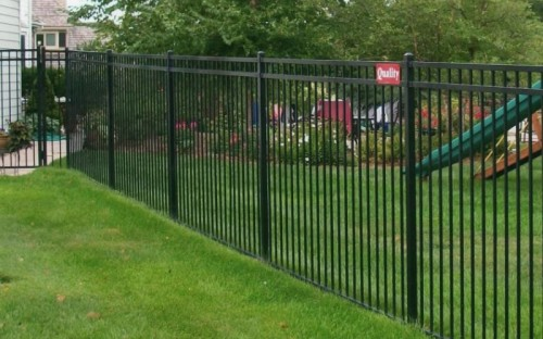 6 foot ornamental fence