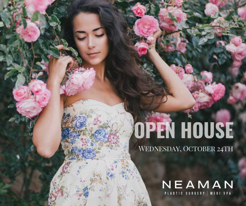 You're Invited: Neaman Plastic Surgery & MediSpa Fall Open House