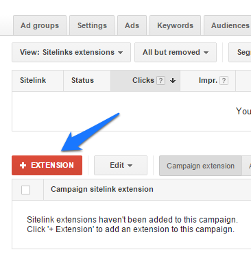 ad extensions step 3