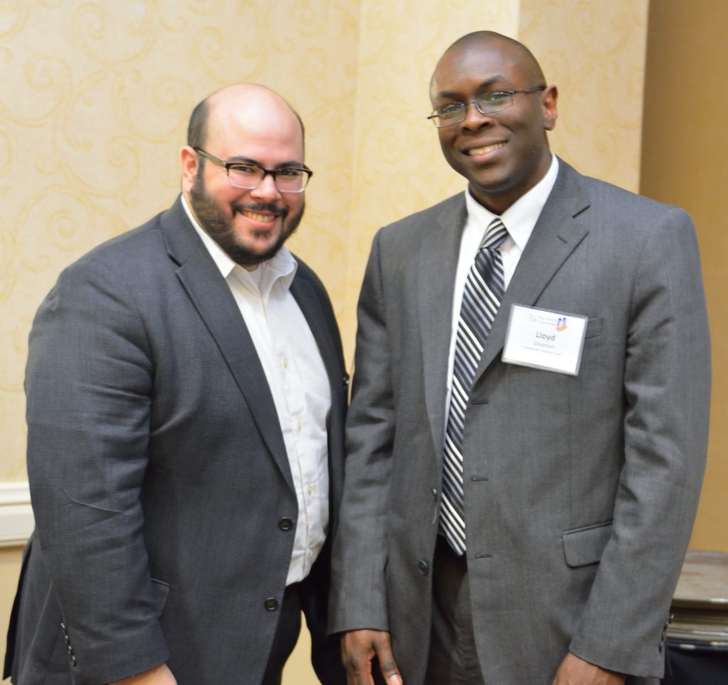 Steve Gomez (Greater Newark Enterprises Corporation) & Lloyd Doaman (Harlem Entrepreneurial Fund, LLC)