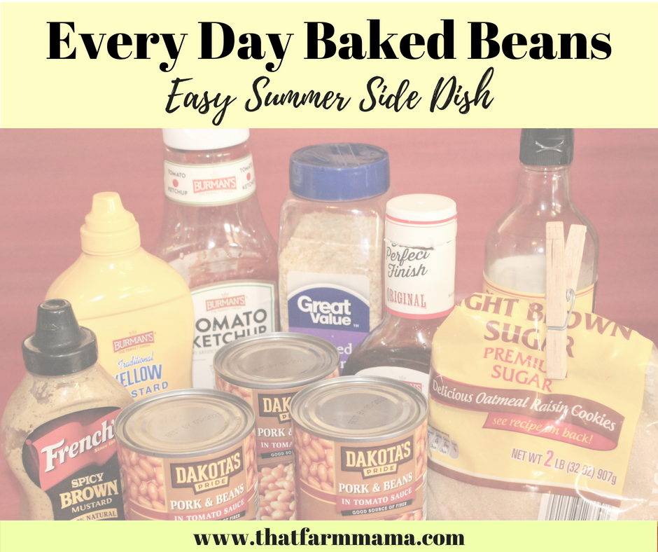 every day baked beans