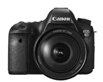 Canon EOS 6D w/24-105mm f/4 L kit