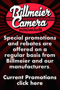 Current Promotions at Billmeier Camera