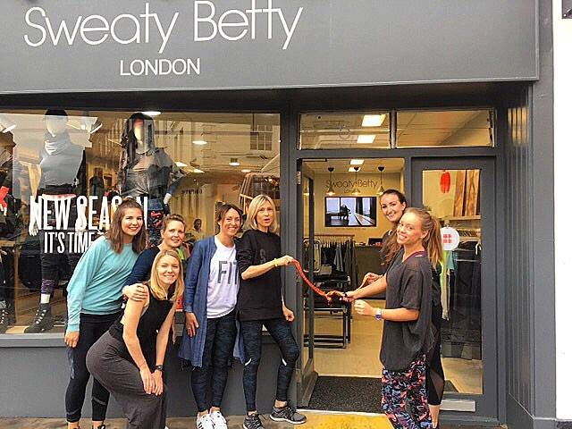 Sweaty Betty opening event