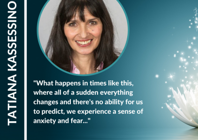 Being You is Always Good Enough – Tatiana Kassessinoff Clinical Hypnotherapist, Transformational therapist & host of the 'London Heal Podcast'