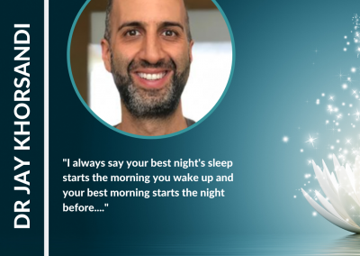 How to Biohack Your Sleep with Dr Jay Khorsandi