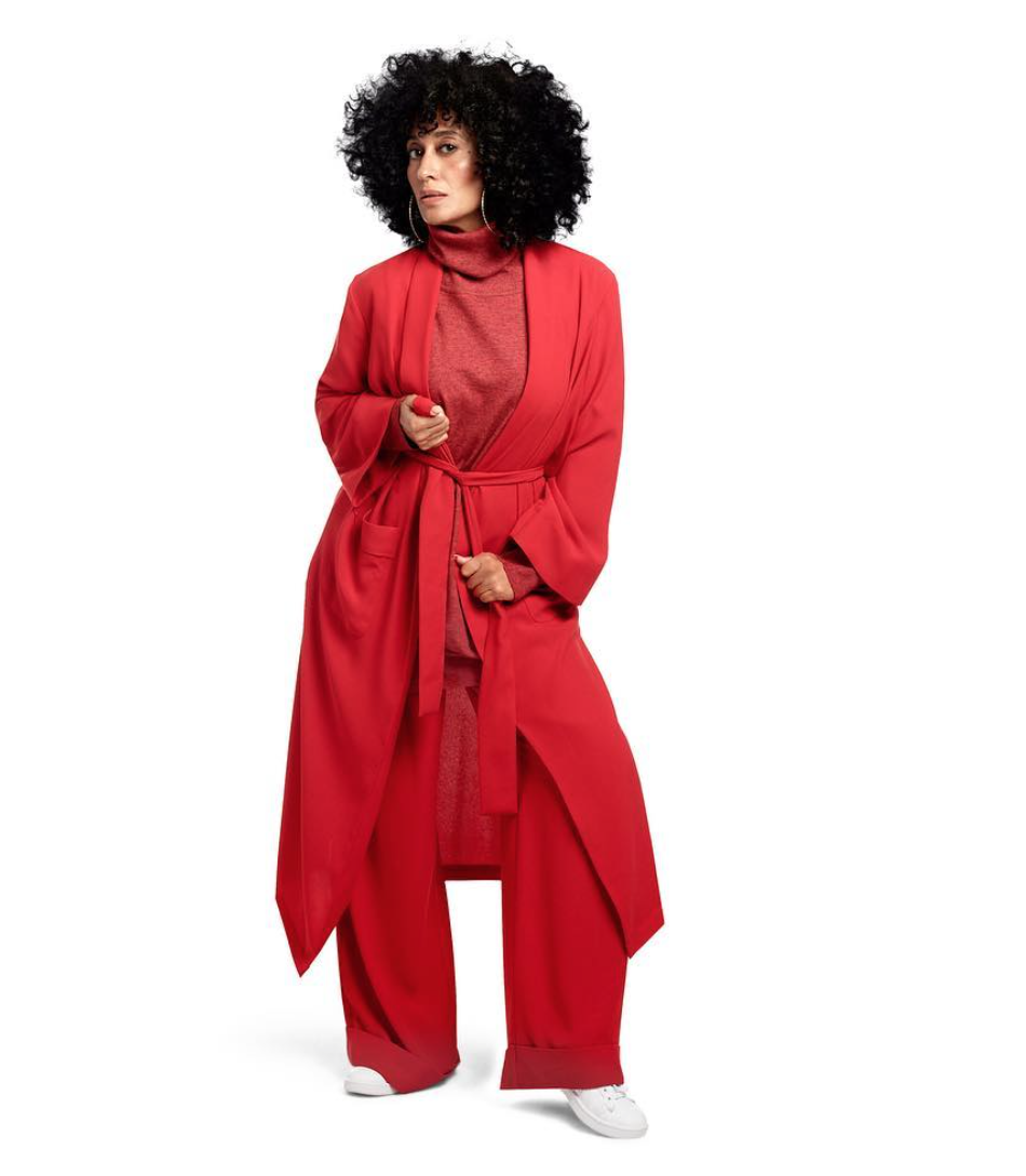 Full Red Outfit from Tracee Ellis Ross