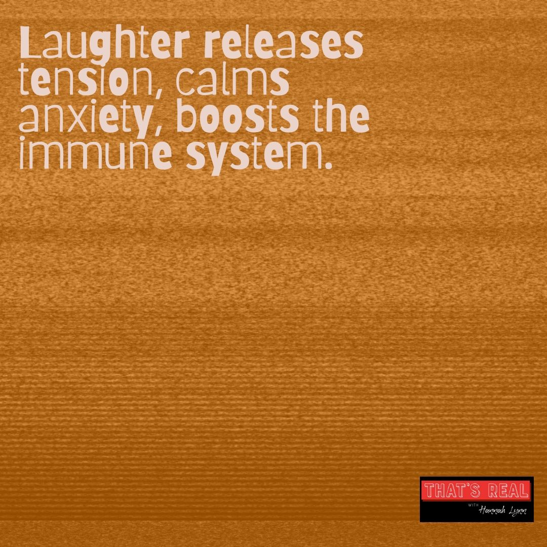Why We Should Laugh