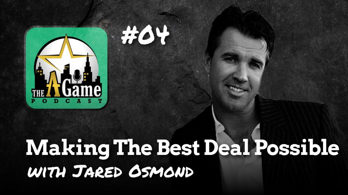 Making the best deal possible with Jared Osmond