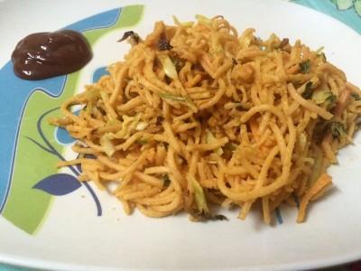 Atho-Burmese noodles