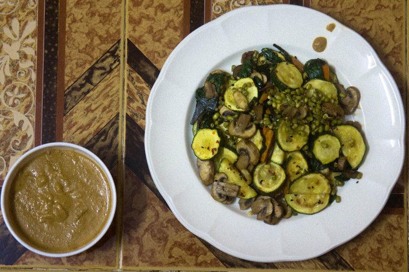 Gado Gado-Salad with Peanut sauce