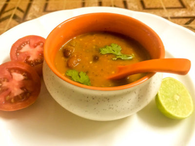 Mexican Red Kidney bean soup