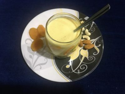 Vegan Apricot smoothie