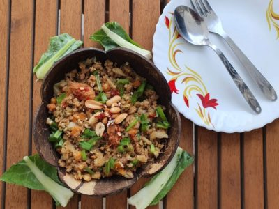 Chinese Cauliflower rice- Fried rice without rice