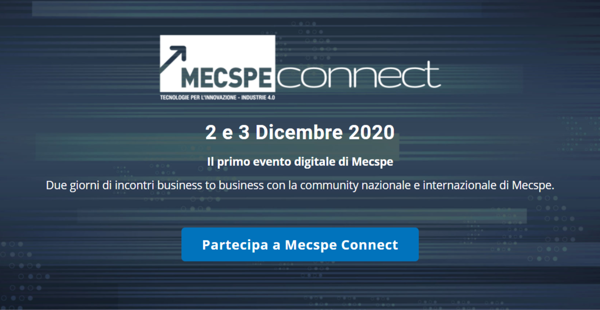 CANCELLATA MECSPE 2020: soluzioni 4.0 per l'industria manifatturiera