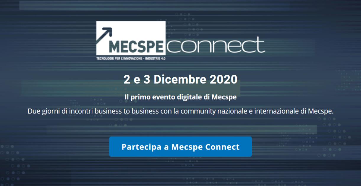 MECSPE 2020: soluzioni 4.0 per l'industria manifatturiera