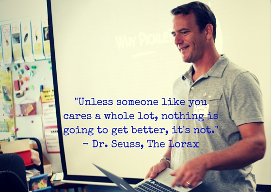 -Unless someone like you cares a whole lot,
