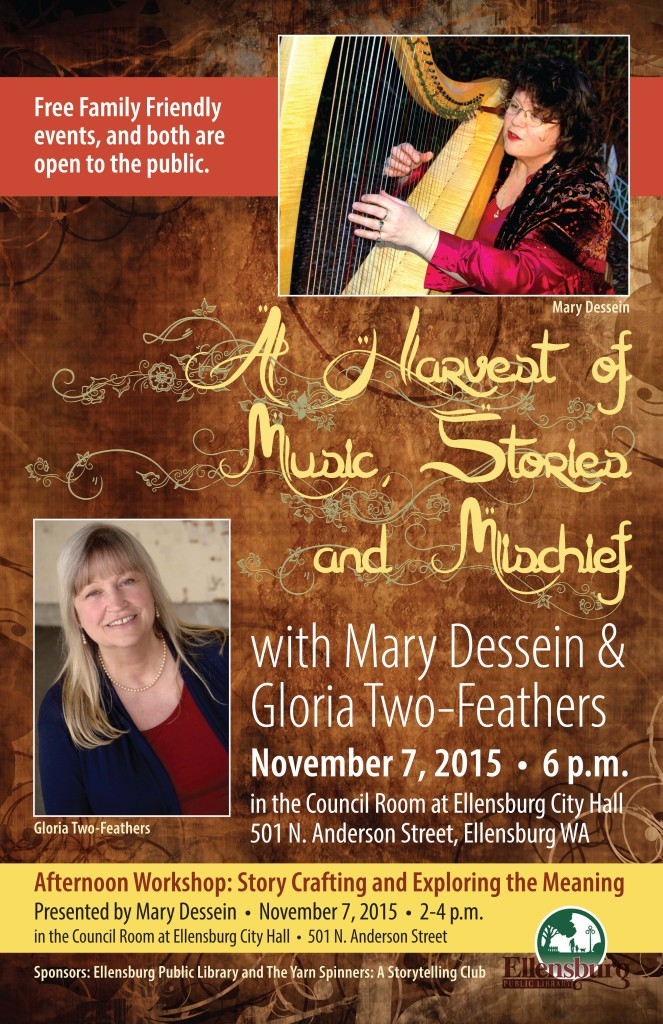 Mary and Gloria in Ellensburg