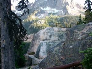 Washington Pass Overlook  photo by Mary Dessein