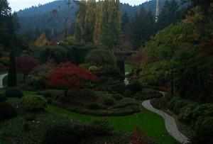 Buchart Gardens - photo by Mary Dessein
