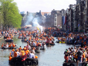 King's day - Courtesy Remi Mathis (wikimedia commons)