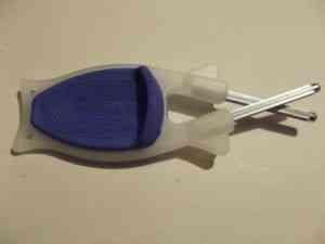 Glow-in-Dark-with-Blue-Anti-slip-Grip-Block-Sharpener-300x225