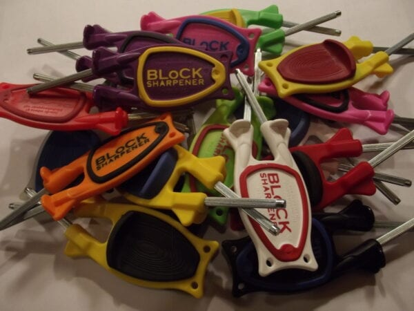 Block knife sharpeners