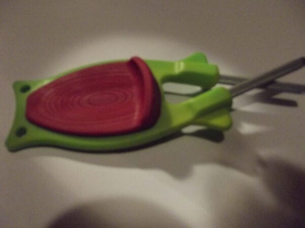 Green knife sharpener