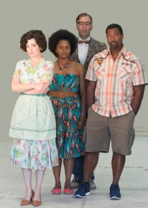 Cast of Clybourne Park.Photo credit:  Darren Scott