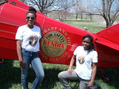 Fly Girls: Dayla Blackburn and Britney Wilson