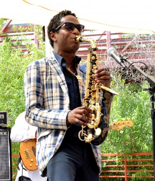 Rocky Powell, Saxaphonist Photo:  Mandate Records