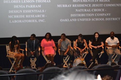 Following a screening of the powerful film, Fruitvale Station- Academy-award winner Octavia Spencer, actor Michael B, Jordan and cast answer questions from the audience.