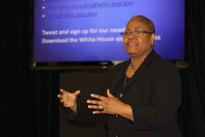 Melanie Campbell, president and CEO of the National Coalition on Black Civic and convener of Black Women's Roundtable