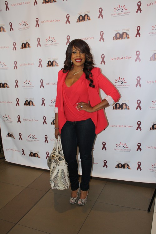 Celebrity Niecy Nash was on hand to support cause.