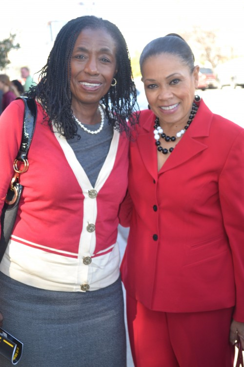 Cheryl Williams & Mytle Cole, 4th District Councilmember
