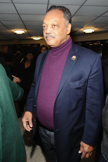Reverend Jesse Jackson attends the Super Bowl Gospel Celebration 2014 on January 31, 2014 in New York City. (Photo by Gary Gershoff/Getty Images for Super Bowl)