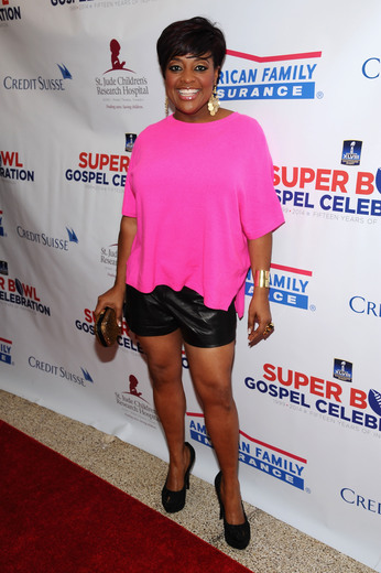 The View' Host Sherri Shepherd attends the Super Bowl Gospel Celebration 2014 on January 31, 2014 in New York City. (Photo by Gary Gershoff/Getty Images for Super Bowl)