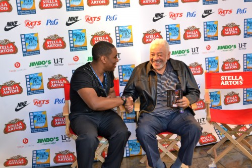 """Filmmakers and, film enthusiasts welcome Grammy and NAACP Image-Award- winning recording artist Bill Withers at a screening of his documentary """"Still Bill"""" at 2014 San Diego Black Film Festival on Saturday February 1."""
