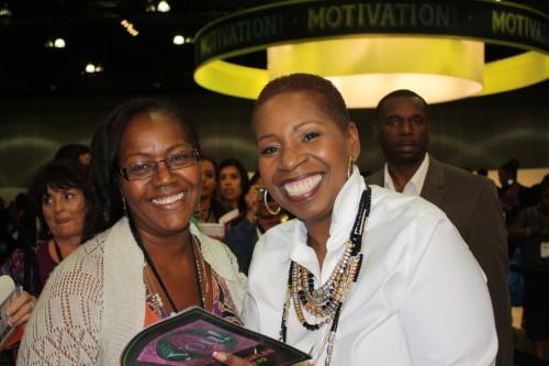 Photo taken at OYOU! Iyanla Vanzant and Gwen Pierce in October, 2012